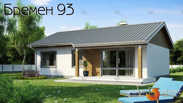 """Каркасный дом в классическом стиле """"Бремен 93"""""""