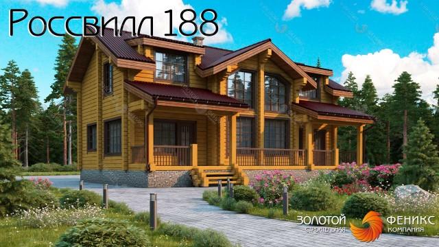 Очень красивый дом 10 на 14 из бруса со вторым светом, 3 просторными спальнями, гардеробной, панорамными окнами