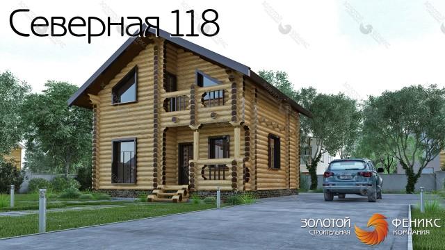 """Гостевой дом-баня """"Северная 118"""""""